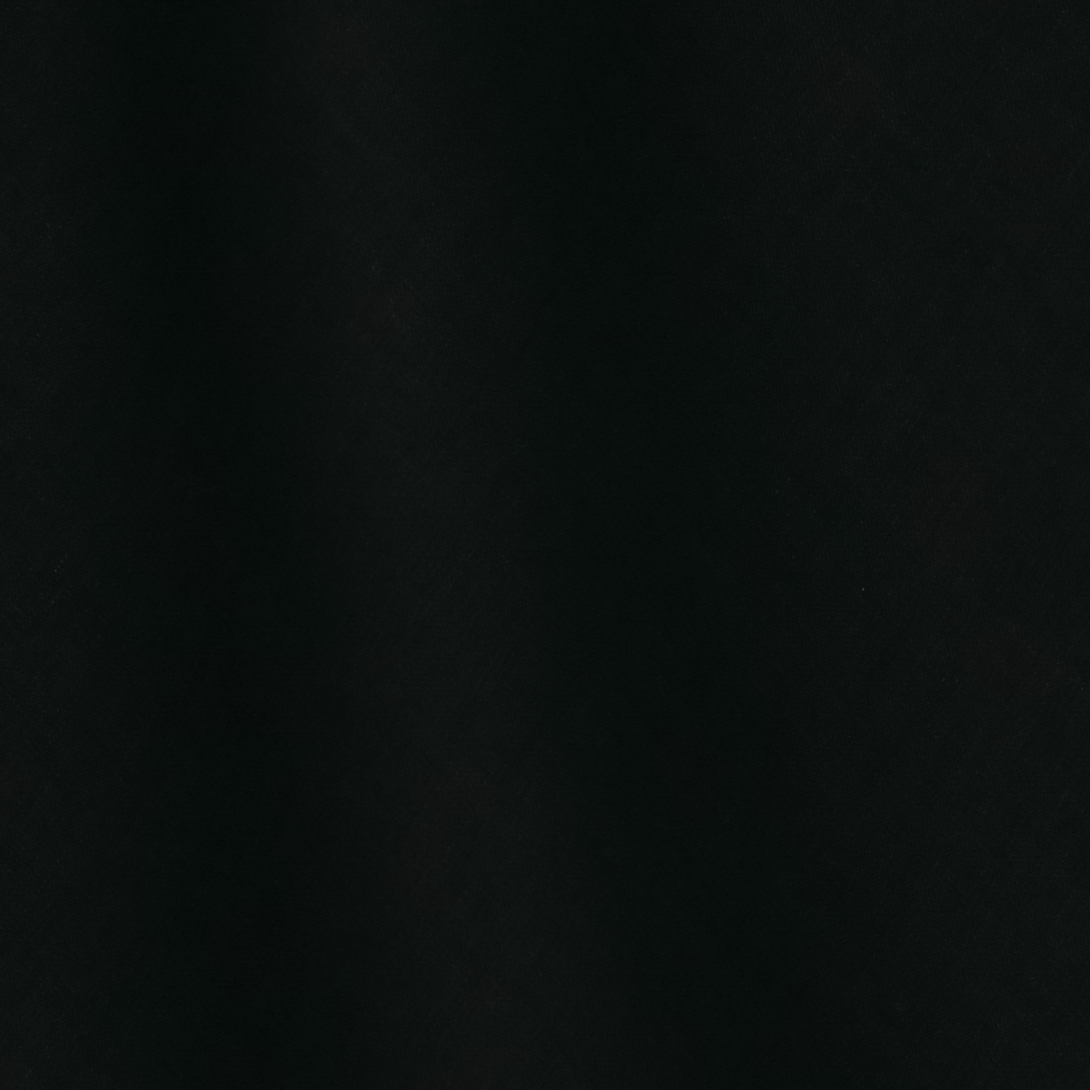 Плотная льняная саржа чёрного цвета