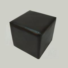 Банкетка куб BN-007, 340х340х340мм (черный)
