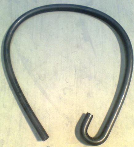 25643047 Шланг резиновый U-образный диа.37/25 х 2000 мм