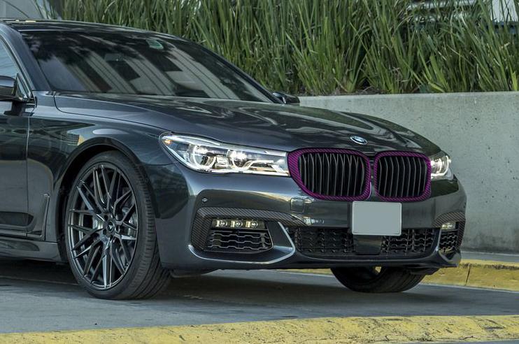 Карбоновые рамки решетки радиатора для BMW 7 G11