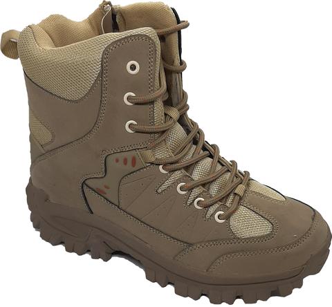 Кроссовки LAX630-5, высокие, beige