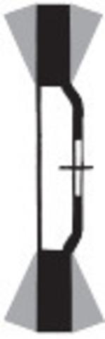 Круг шлиф. лепестковый SLTflex (ZA), крепление M14 ⌀ 125 мм
