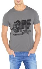 461493-46 футболка мужская, серая