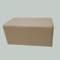 Банкетка прямоугольник  BN-001, 670х330х360 мм (кремовый)