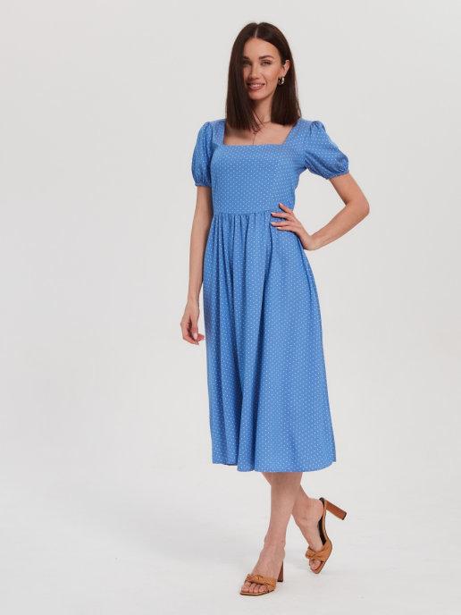 Летящее летнее платье в романтическом стиле от Brandmania
