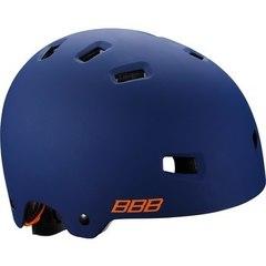 Велошлем BBB Billy синий матовый/оранжевый