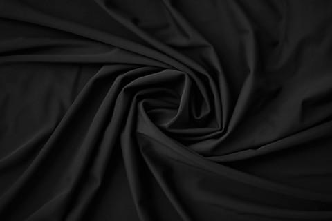 Микрофибра черная (плотность 125 г/м2) Lauma (метражом)