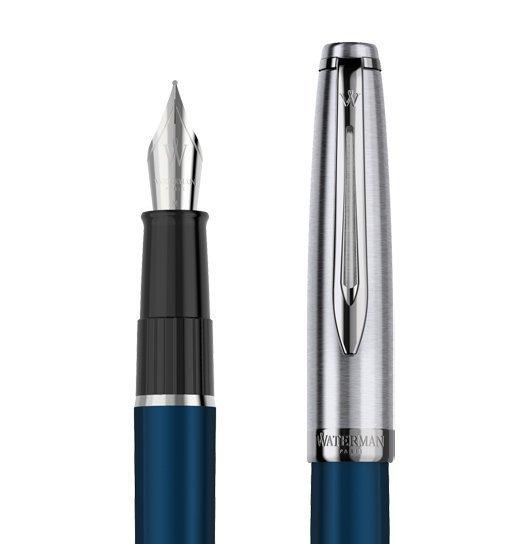 Waterman Embleme - Blue CT, ручка перьевая, F