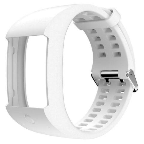 Силиконовый браслет Polar для пульсометра Polar M600, белый