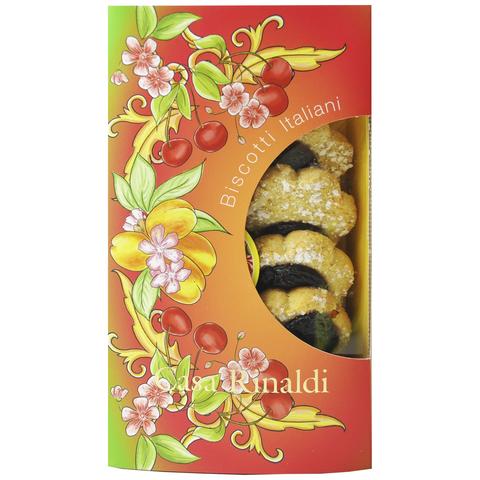 Печенье Маргарита Casa Rinaldi с джемом из вишни и абрикоса 200 г