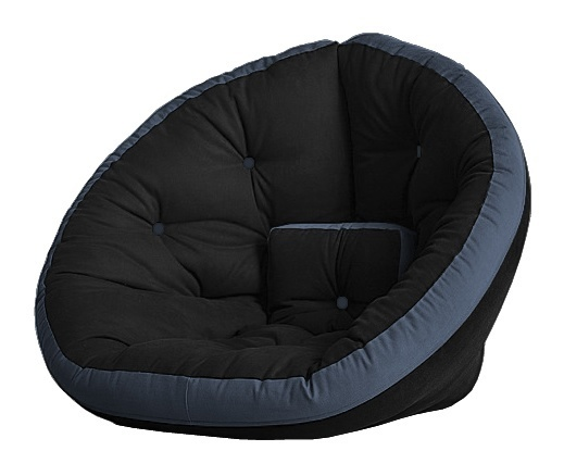 Универсальные кресла Кресло Farla Lounge Чёрное с синим bl_blue_blue.jpg
