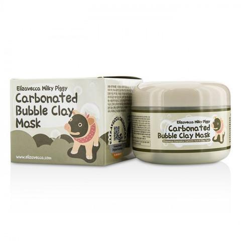 Elizavecca Carbonated Bubble Clay Mask глиняная маска с пузырьками для очищения пор