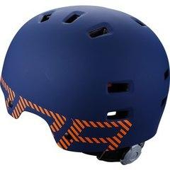 Велошлем BBB Billy синий матовый/оранжевый - 2