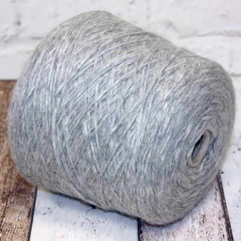 Смесовка с альпакой PECCI FILATI TRESJOLI 120 серый меланж