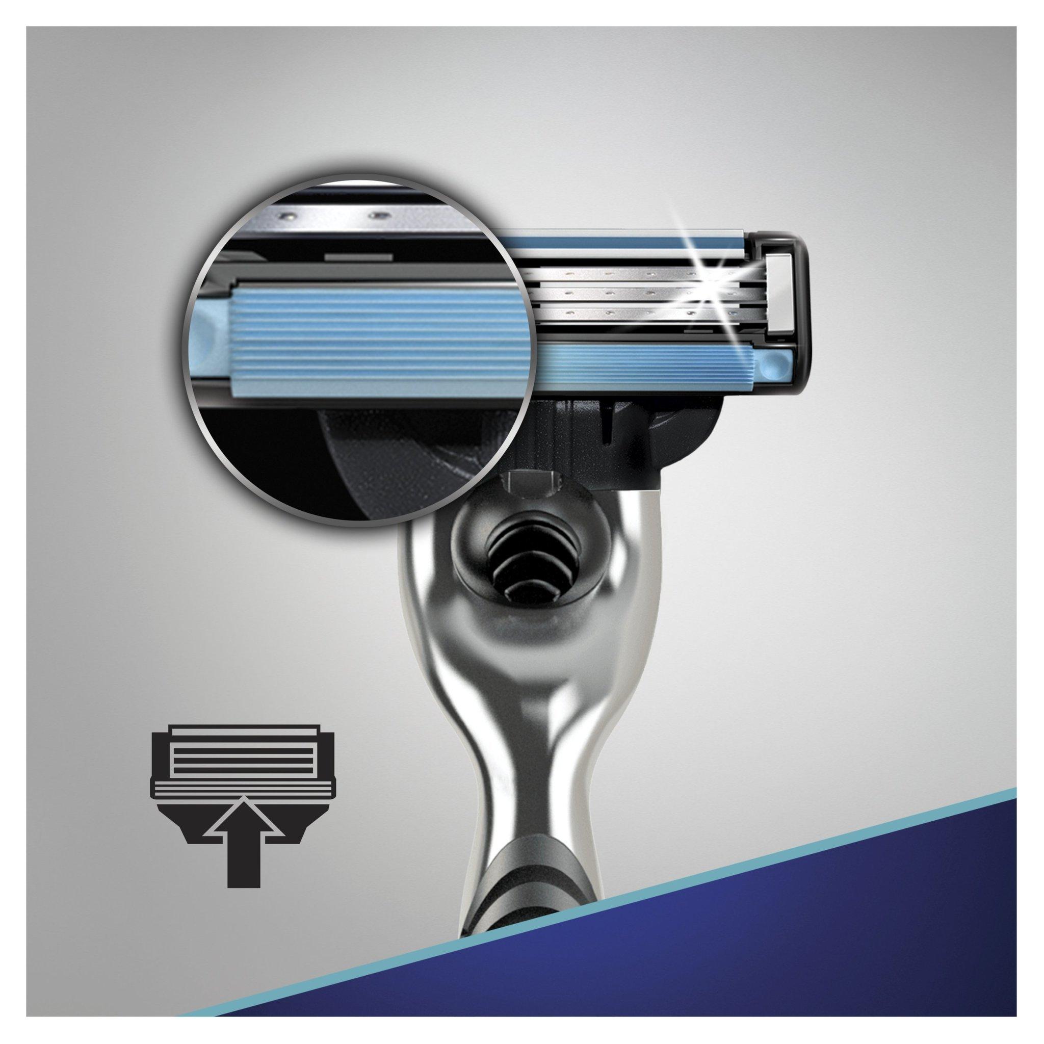 Сменные кассеты для бритья Gillette MACH3 комплект 3 по 8 (24 шт)