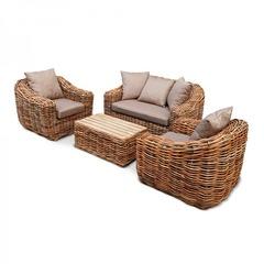 Комплект мебели из натурального ротанга KM-2001