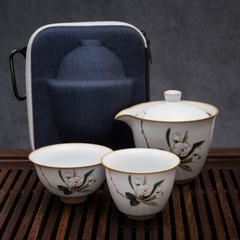Набор для чаепития в кейсе
