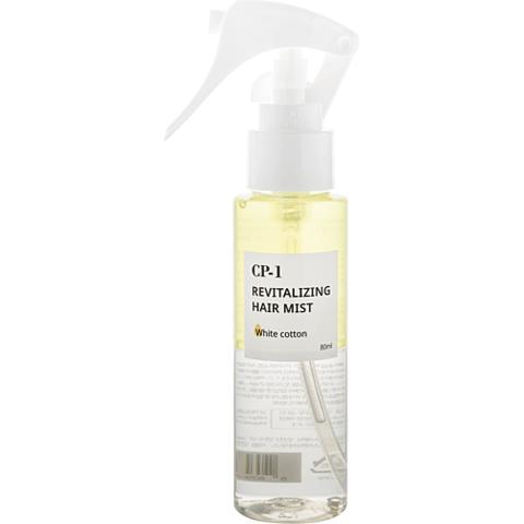 Мист для волос ЛИМОННАЯ ВЕРБЕНА/ГИАЦИНТ CP-1 Revitalizing Hair Mist (White cotton), 80 мл, ESTHETIC HOUSE