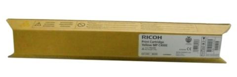 Оригинальный лазерный картридж Ricoh MPC400E (841553/842041) желтый