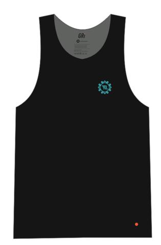 Майка GRi Tengri runners, черная, мужская