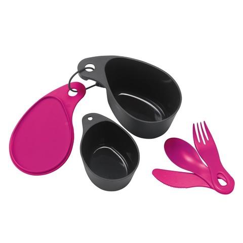 Картинка набор посуды Primus Field Cup Set фиолетовый - 1