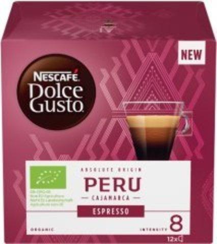 Кофе в капсулах Nescafe Dolce Gusto Peru (12 капс.)