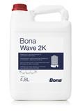 Bona Wave 2K полуматовый (5 л) экологически чистый двухкомпонентный водно-дисперсионный паркетный лак (Швеция)