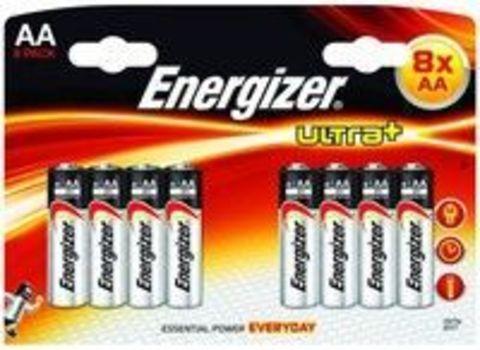 Комплект батареек Energizer AA 8шт.