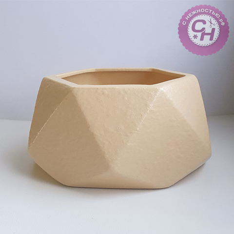 Кашпо керамическое