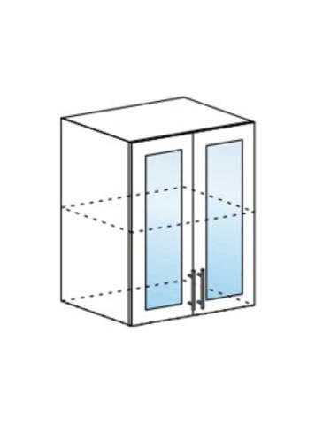 Шкаф верхний со стеклом