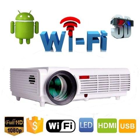Проектор Everycom LED96 (BT96) Wi-Fi Android 3000 Lum