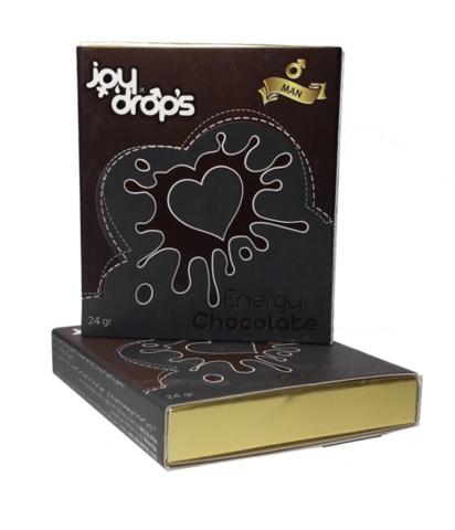 Возбуждающий шоколад для мужчин 24 гр JOY DROPS