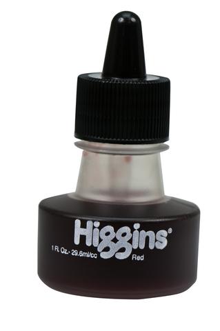Чернила HIGGINS RED Dye-Based 1 OZ, 29,6 мл