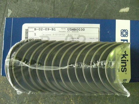 Вкладыши коренные коленчатого вала, стандарт / MAIN BEARING KIT АРТ: 10000-46808