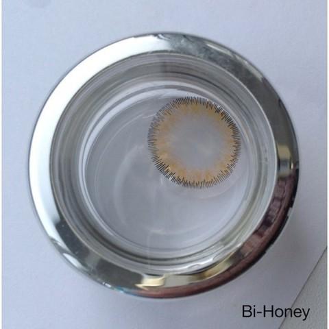 Медовые итальянские цветные линзы ADORE Bi - Tone Honey