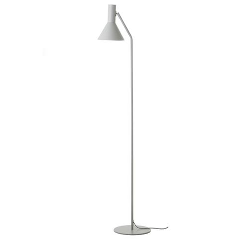 Лампа напольная Lyss, светло-серая матовая