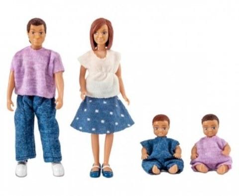 Игровой набор Lundby Семья с двумя малышами 60806300