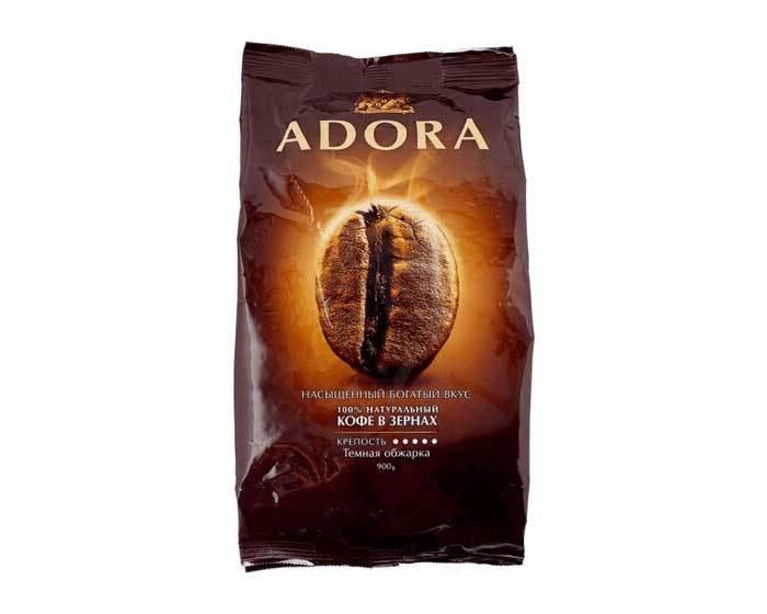 купить кофе в зернах Ambassador Adora, 900 г
