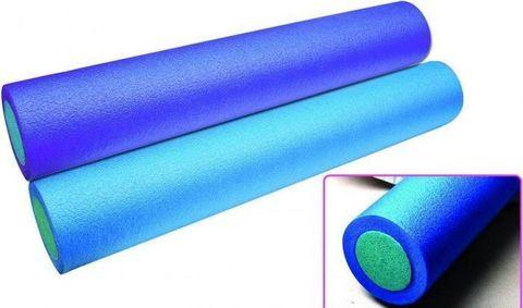 Валик гладкий для занятий йогой HKYB6010, 90 х 15 см, цвет синий (38174-1)