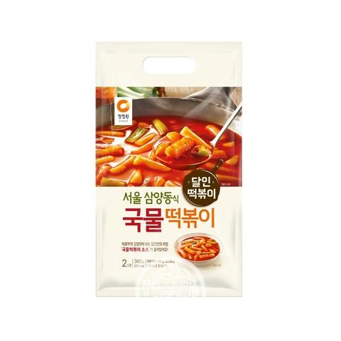 Рисовые клёцки Токпокки Daesang с острым соусом 380г Корея