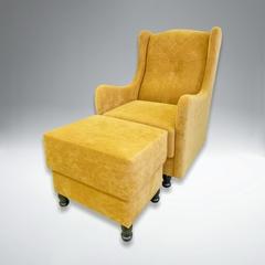 Кресло с пуфом Модис