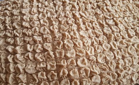 Чехол на 3-х местный диван песочный без оборки.