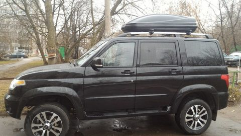 Автобокс Way-box 460 литров  на УАЗ Патриот