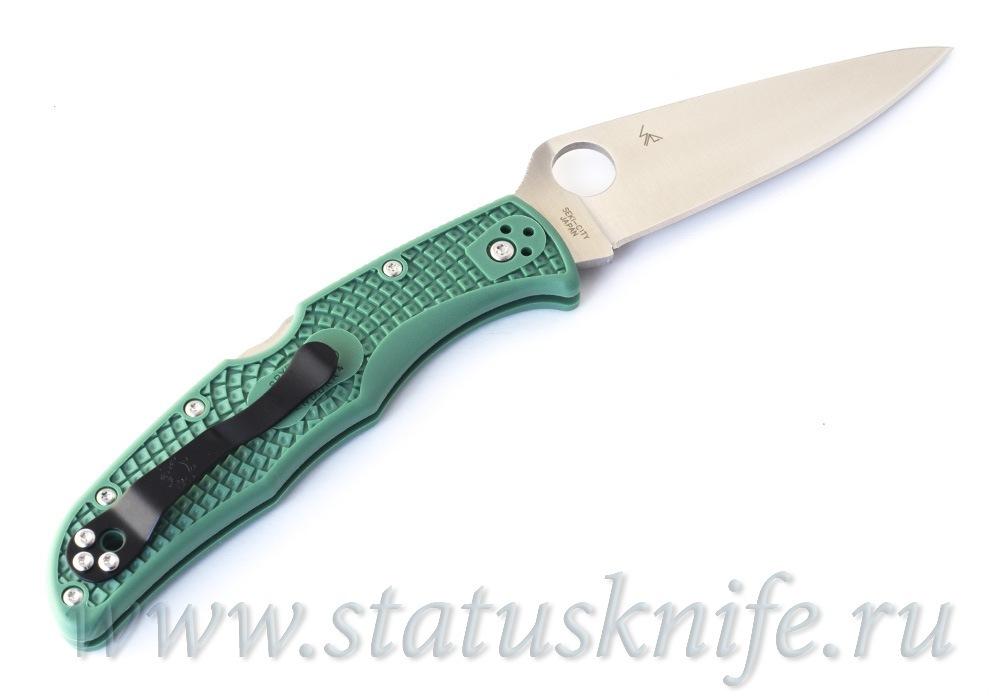 Нож Spyderco Endura Flat Ground Green C10FPGR - фотография