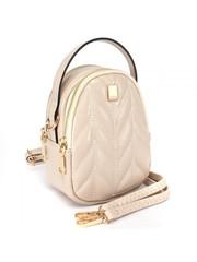 Мини - сумка бежевая