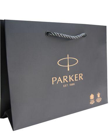 Подарочный набор с гравировкой с ручкой Parker IM Premium Black GT123