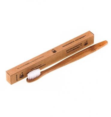 Зубная щетка из бамбука (средняя жесткость щетины) Ecotoothbrush