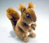 Мягкая игрушка Белочка 16 см (Leosco)