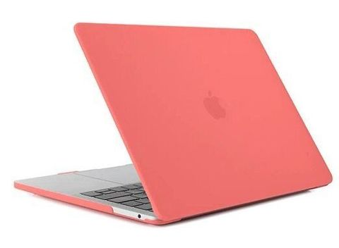 Накладка пластик MacBook Pro 16 Retina /matte orange/ DDC