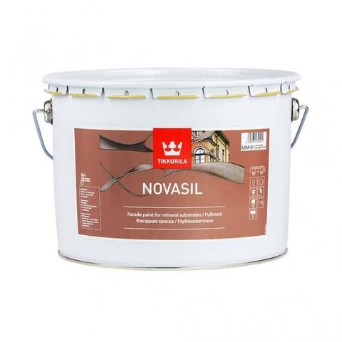 Tikkurila Novasil / Тиккурила Новасил силиконовая фасадная краска